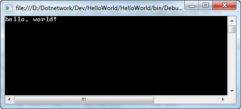 HelloWin01